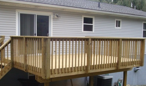 16x12 treated deck