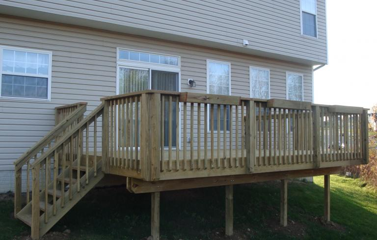 treated deck canton