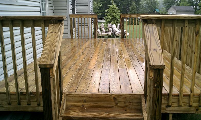 treated deck streetsboro