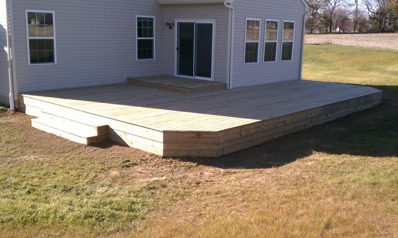 treated deck : low level - plaint twsp ohio