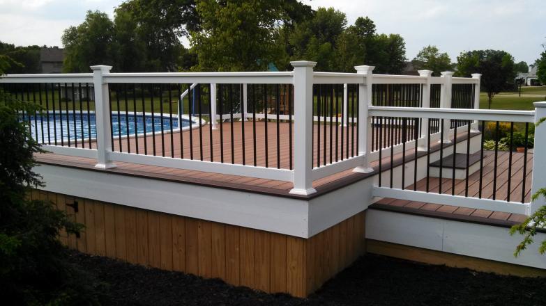 Low-Maintenance Decks: Composite/PVC » Buckstone Building