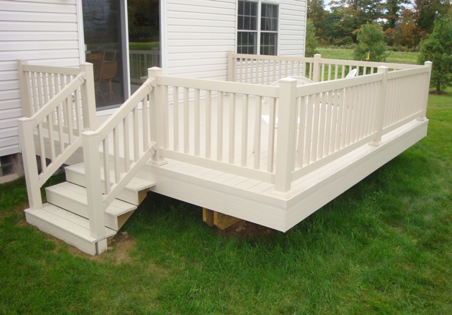 Composite deck trex composite decking sizes for White composite decking