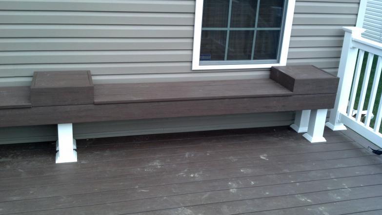 Low Maintenance Decks Composite Pvc 187 Buckstone Building And Restoration Akron