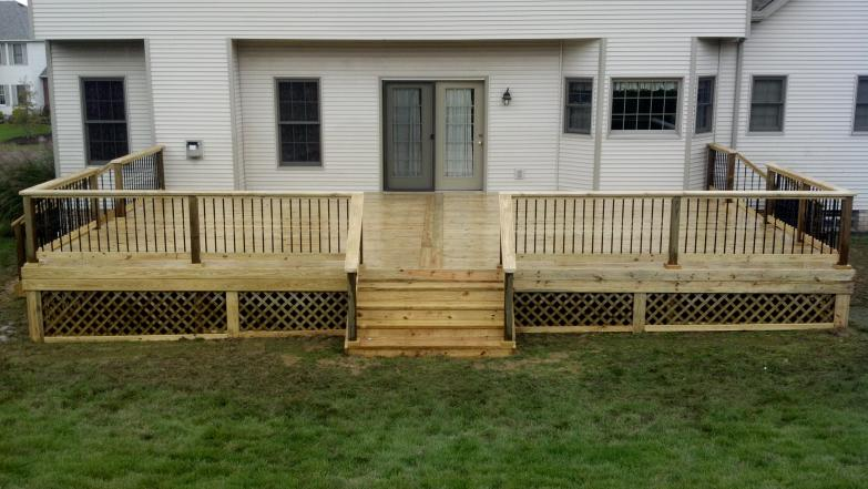 Treated Decks 187 Buckstone Building And Restoration Akron