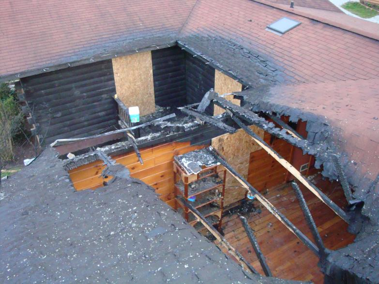 Fire Water Storm Damage 187 Buckstone Building And